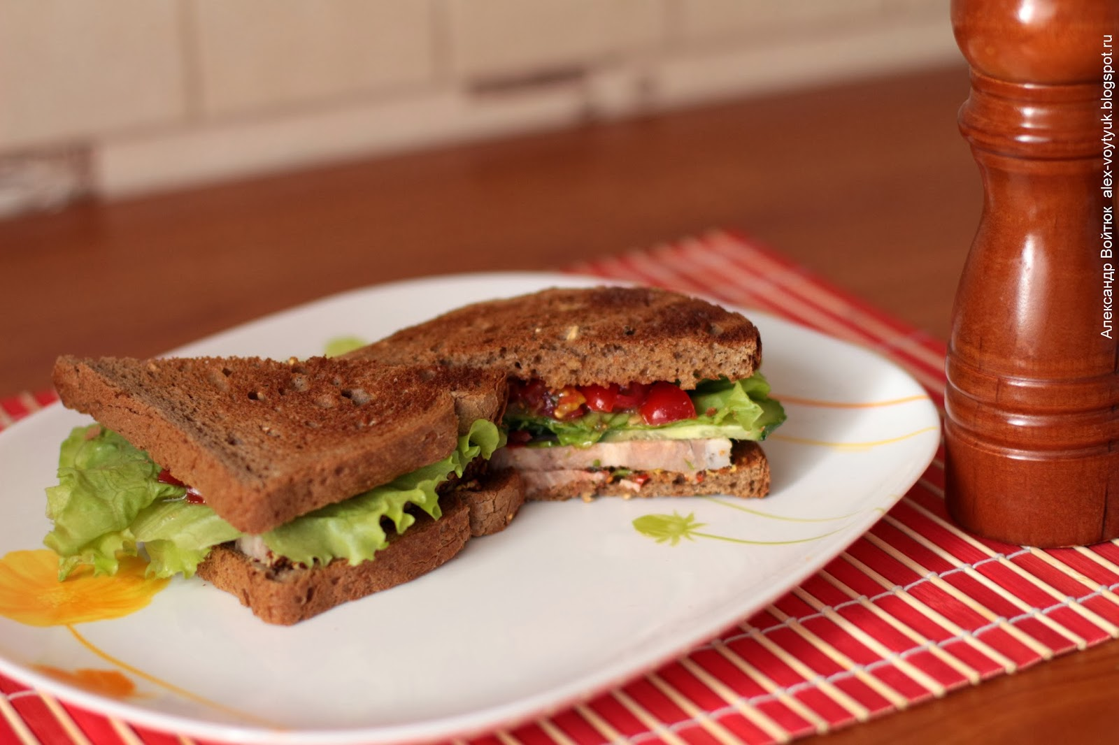 Аппетитные сэндвичи в разрезе (15 фото) Кулинарный сайт
