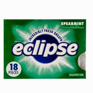 Buy Wrigley's Eclipse Spearmint Sugar Free Gum 18pc Pack of 2 at Rs.97 : Buy To Earn