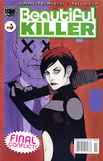 Cover of Beautiful Killer #3 from Black Bull Comics