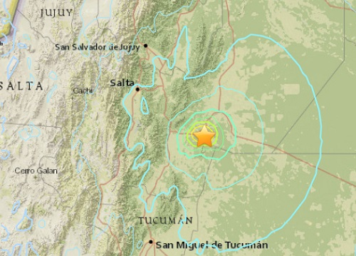 Galpon_Argentina_earthquake_epicenter