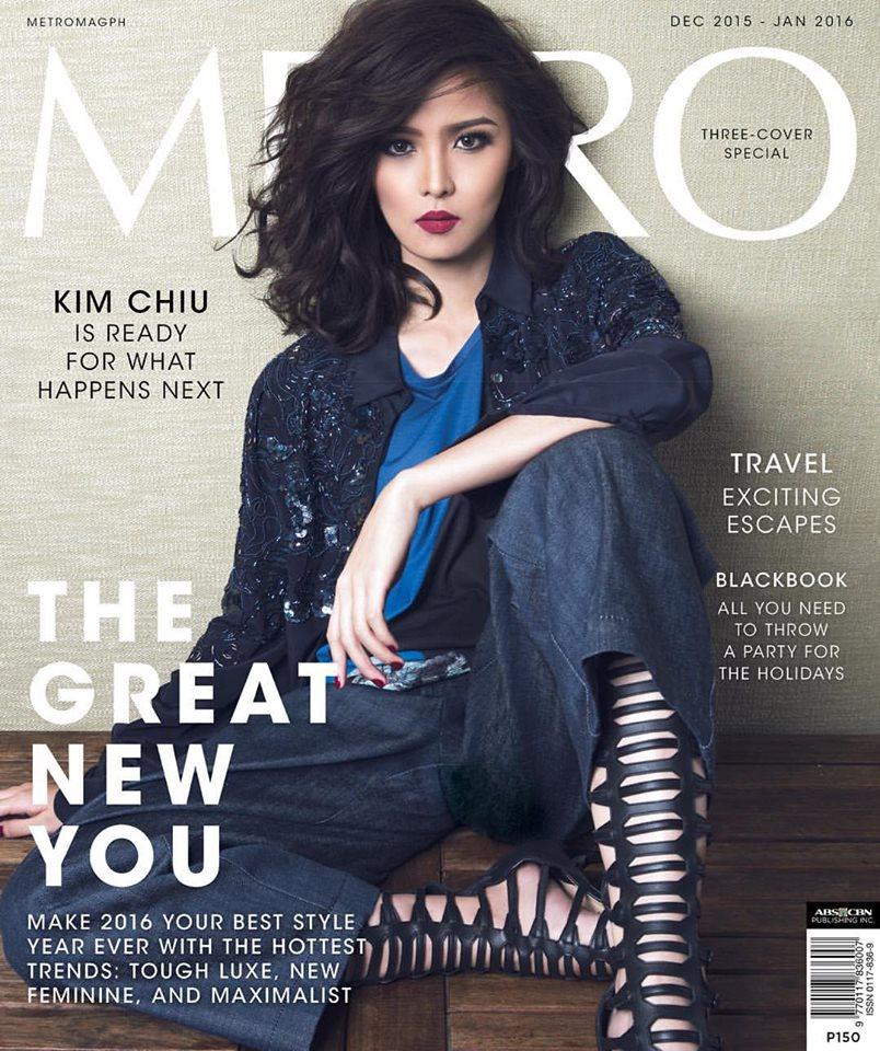 Look: Kim Chiu v. Kim Chiu v. Kim Chiu for METRO Magazine ...