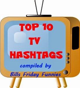 top 10 tv hashtags