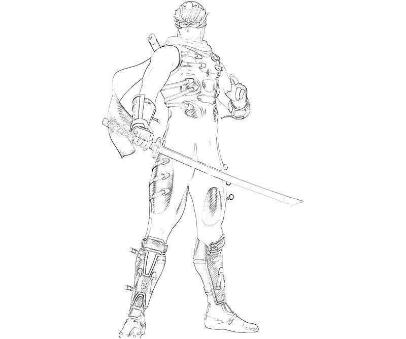 printable-ninja-gaiden-3-ryu-hayabusa-character_coloring-pages