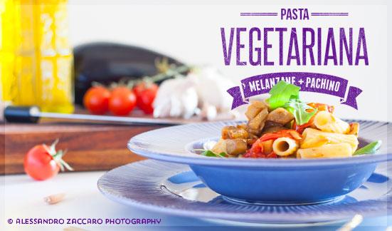 Pasta vegetariana • Vegetarian Pasta