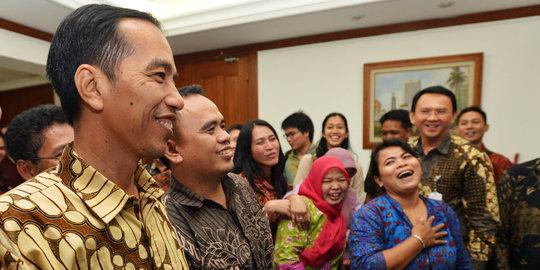 Rapat Di Ruangan Ahok, Jokowi Bahas Relokasi Warga Kampung Pulo
