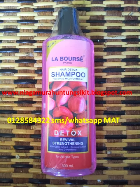 SHAMPOO DETOX HAIR CARE
