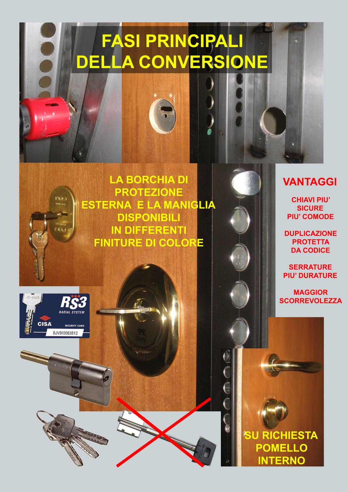 Sostituzione serrature padova fabbro per assistenza porte - Serrature mottura sostituzione cilindro ...