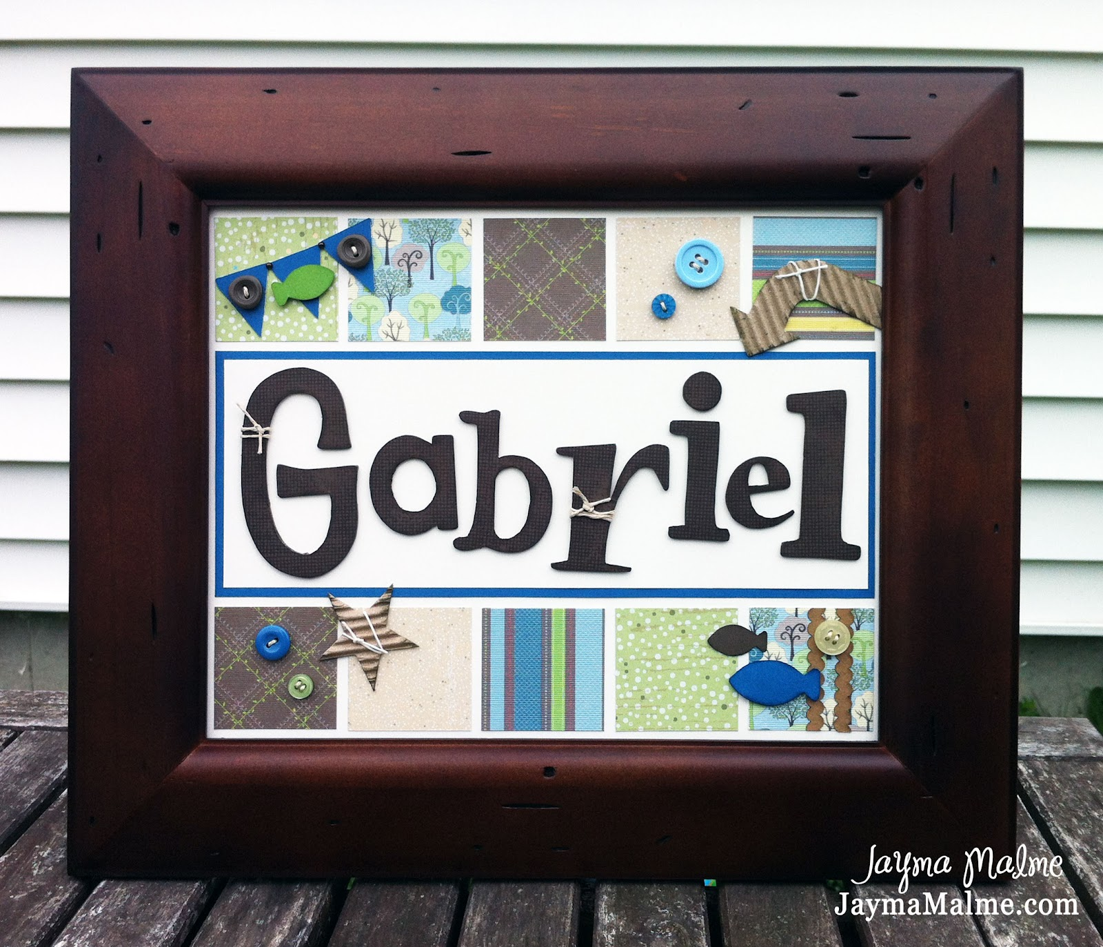 Playing with paper scrapbooks cards diy gabriels whats in a i traced the chipboard letters onto cocoa cardstock then cut them out with my micro tip scissors i then stamped each letter with the universal backgrounds spiritdancerdesigns Images