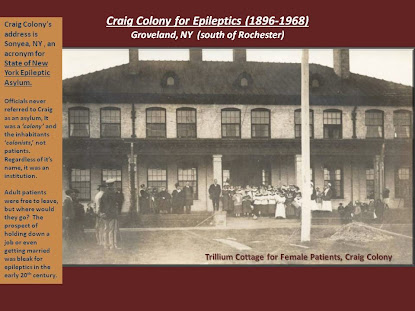 Craig Colony for Epileptics- More at link under documents