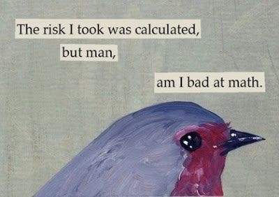 Funny Quotes about Risk and Math