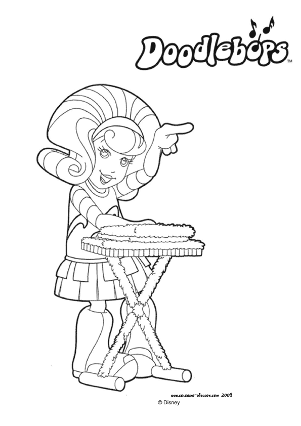 Increíble Doodlebops Para Colorear Imagen - Dibujos Para Colorear En ...