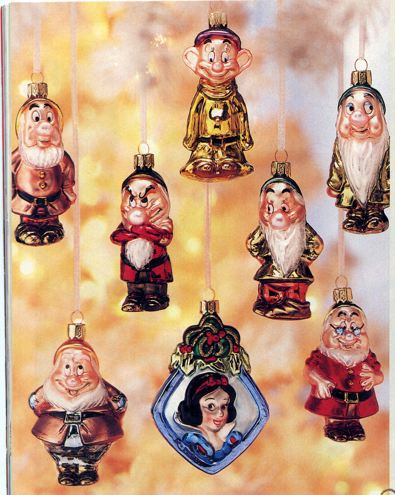 Disney ornament sets - A Mercury Glass Ornament Set Showed Up In The 2002 Christmas Catalog P 90