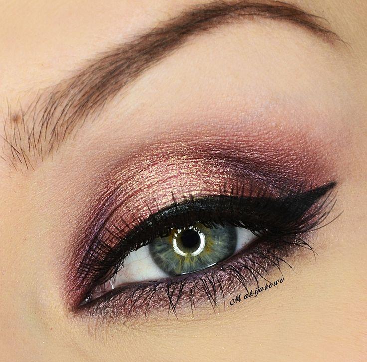Maquillage bordeaux yeux verts - Comment faire ressortir les yeux verts ...