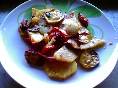 patate in tortiera (patane arreganate)