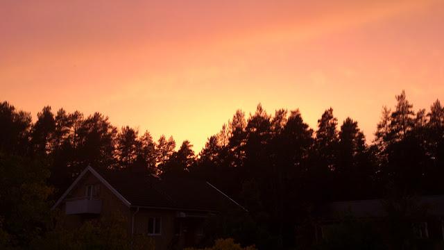 colours sky