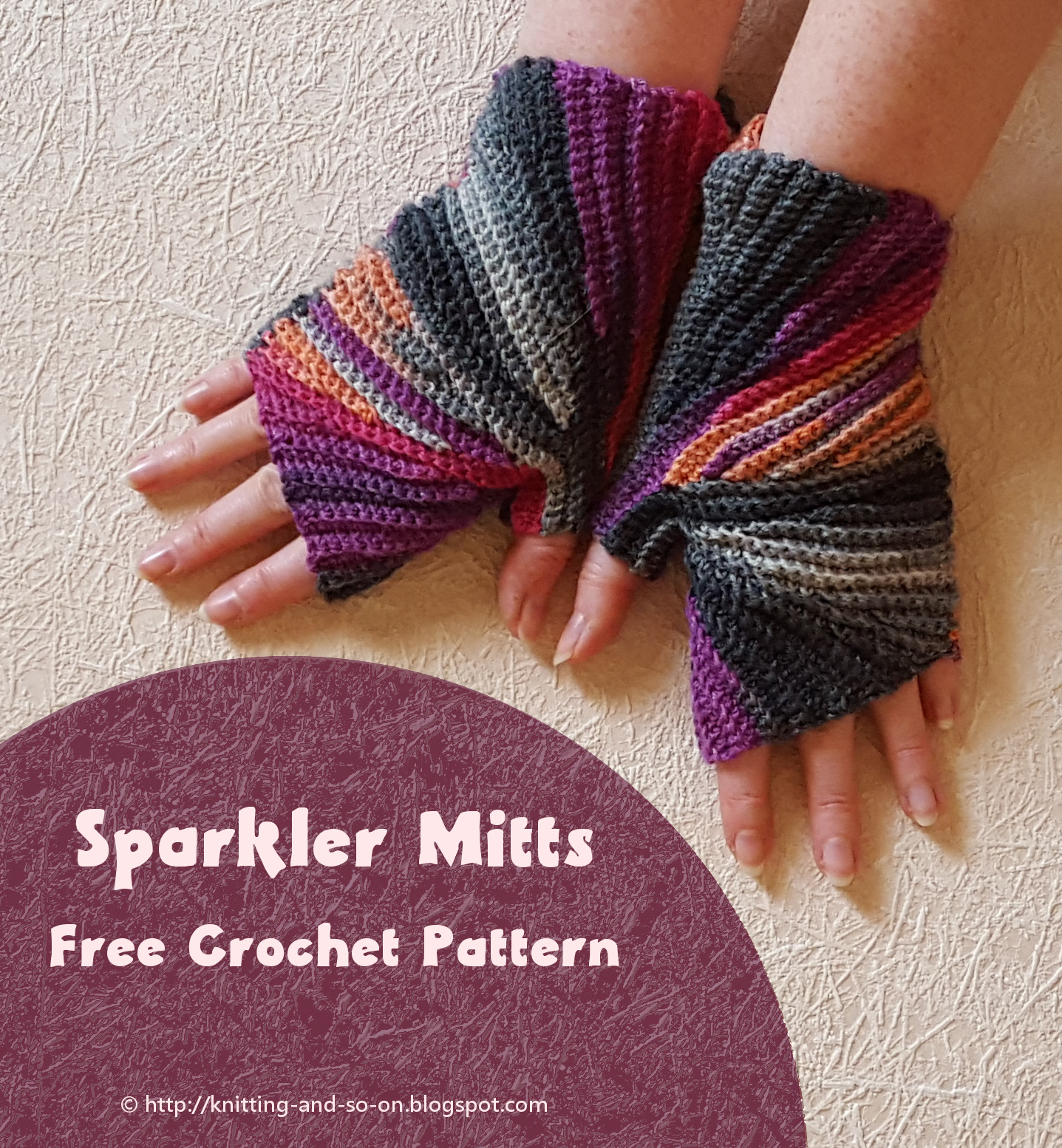 Knitting and so on: Sparkler Mitts