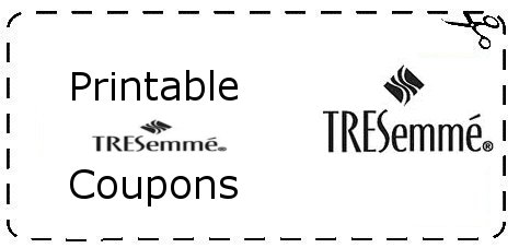 Tresemme Coupons