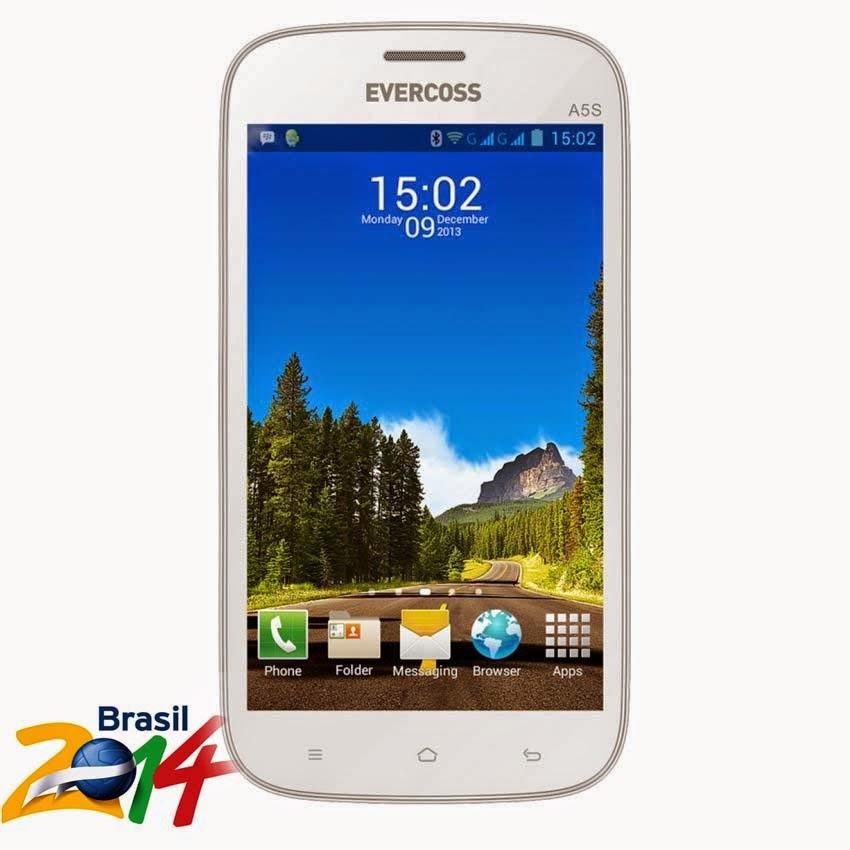 Spesifikasi dan Harga Evercoss A5S | Smartphone Murah Piala Dunia