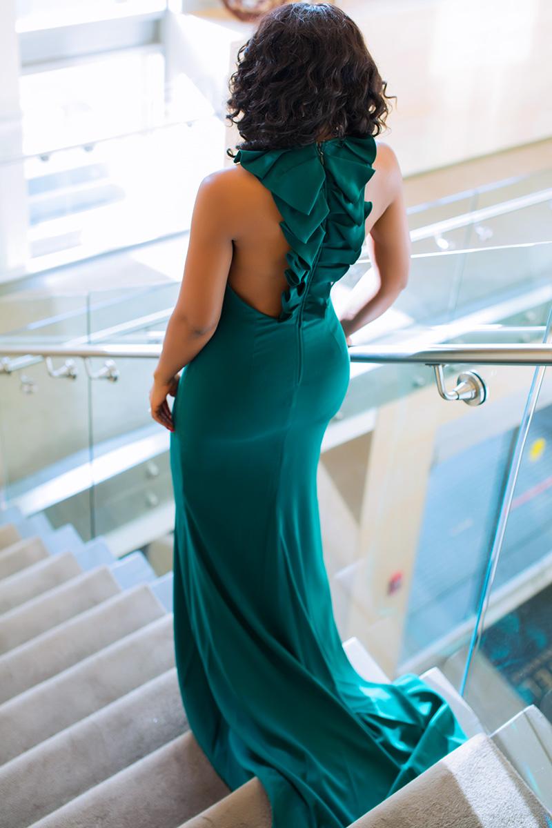 Badgley Mischka gown, wedding guest dress, www.jadore-fashion.com