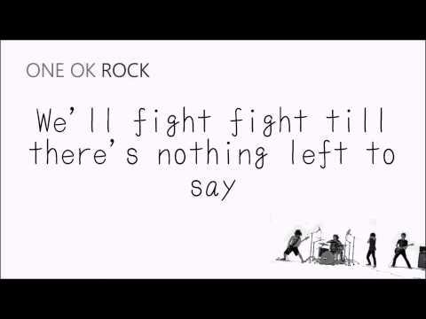One Ok Rock - Fight The Night ( Chord + Lyric ) | Chord beeting