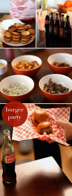 burger birthday party