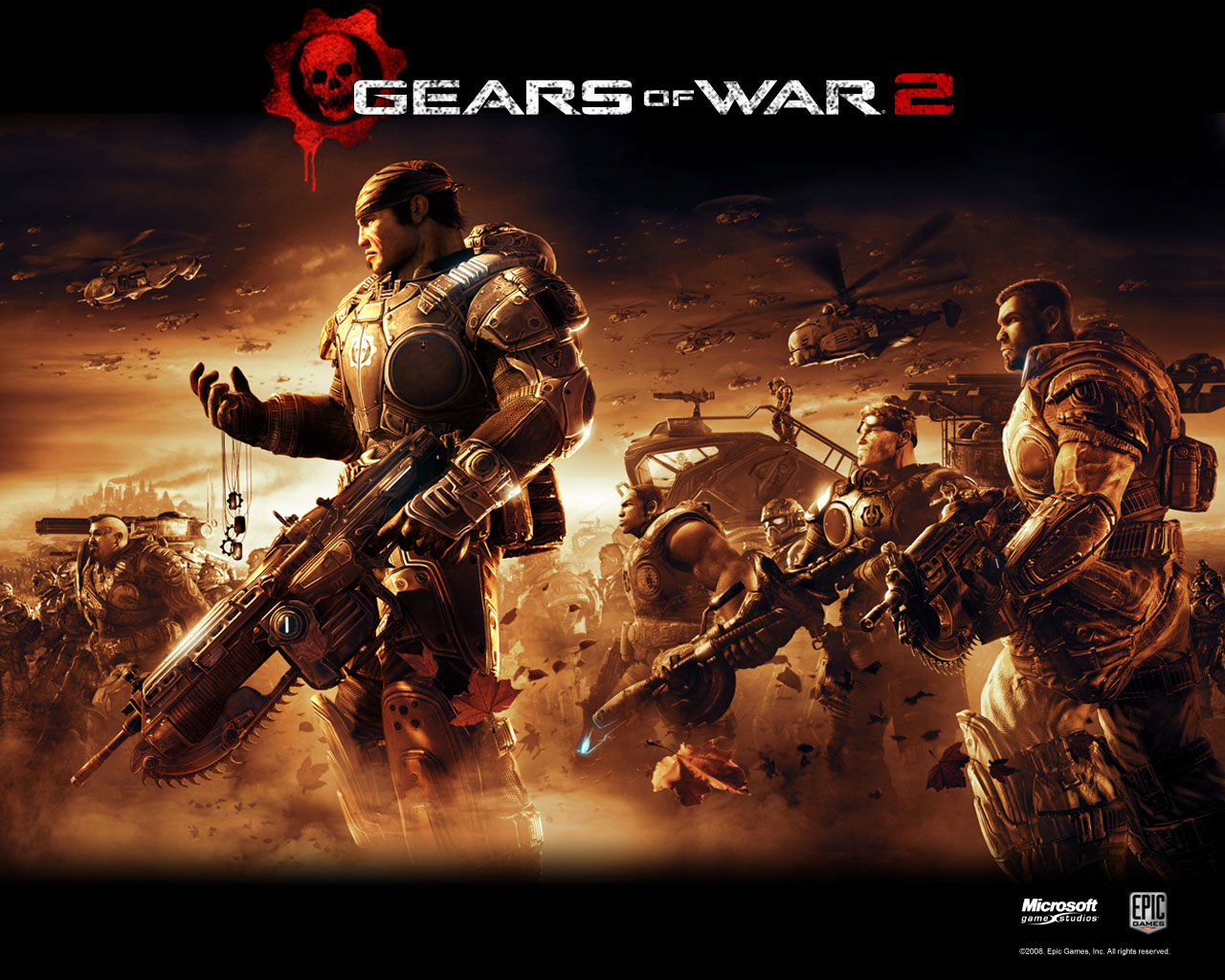 Gears of War HD & Widescreen Wallpaper 0.422251933725074