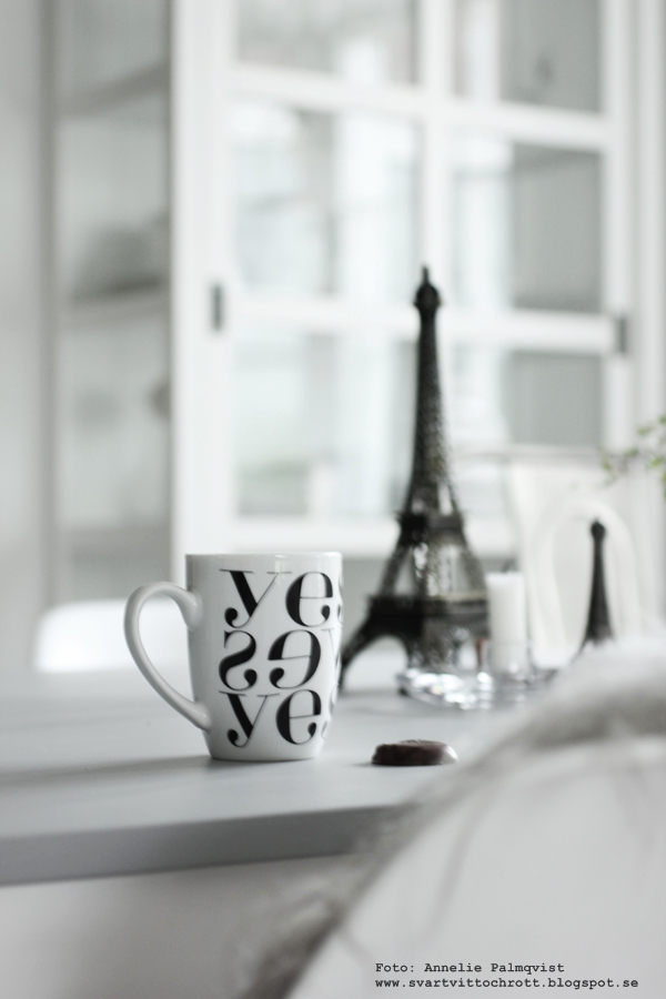 yes mugg, muggar, kaffekopp, kaffekoppar, grafiskt, grafiska, svart och vitt, svartvit, svartvita, koppar, annelies design & interior, annelies design, webbutik, webbutiker, webshop, nettbutikk, nettbutikker,