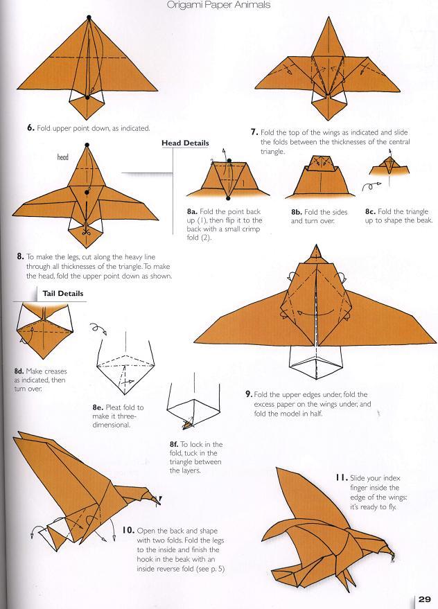 origami eagle origami eagle