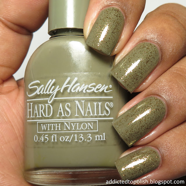 opi thrills in beverly hills over sally hansen edgy creme