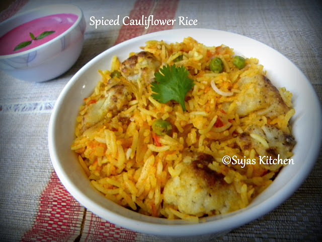 Spiced Cauliflower Rice/Pulav