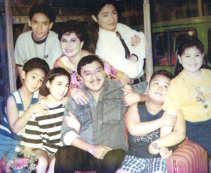 Home Along Da Riles ABS CBN 90's Sitcom Kosme Family