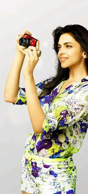 Deepika padukone for camera ads