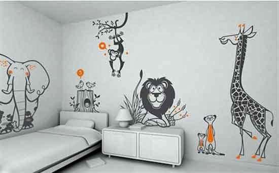Wallpaper Dinding Lebih Unggul Dibanding Cat Tembok Desain Rumah
