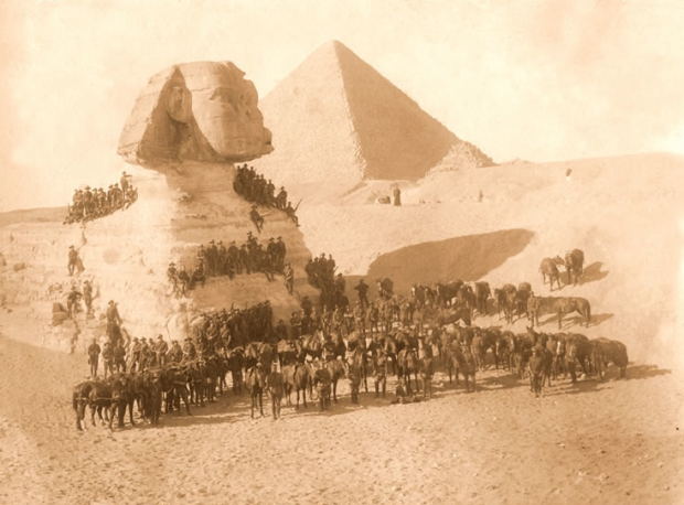 ANZAC Soldiers in Egypt, c.1916-1918