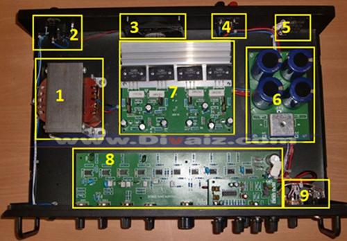 Merakit power amplifier - www.divaizz.com