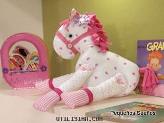 a handmade horse