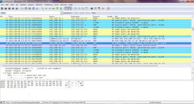 Image of Nmap ACK scan with timing options set