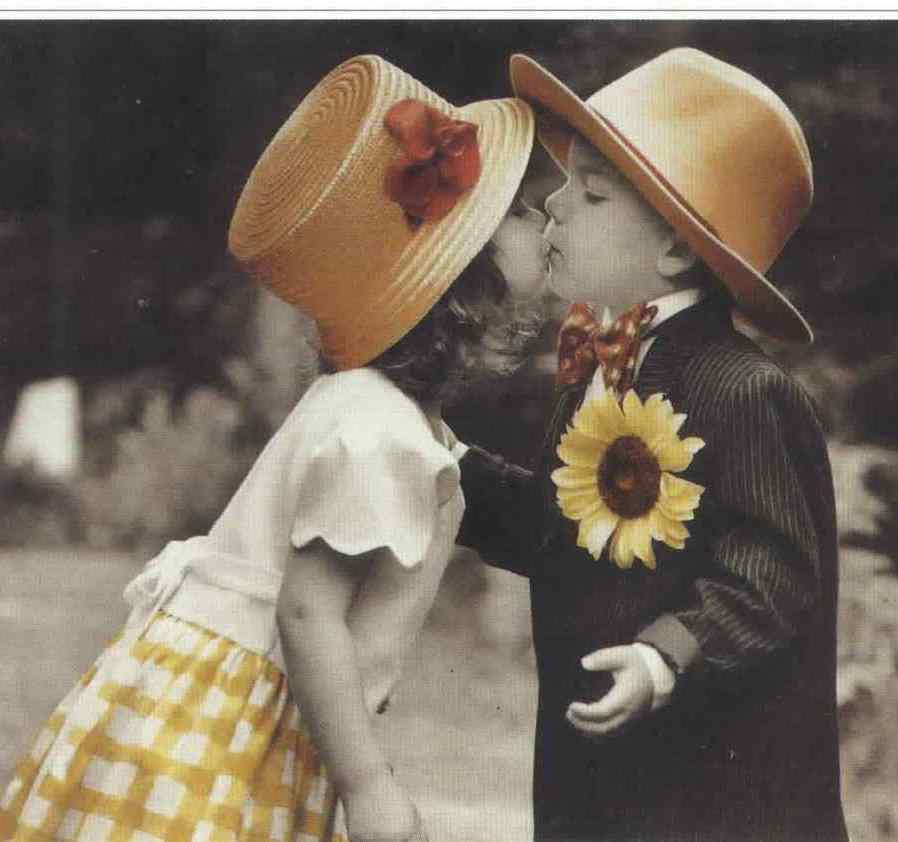 kiss baby love: