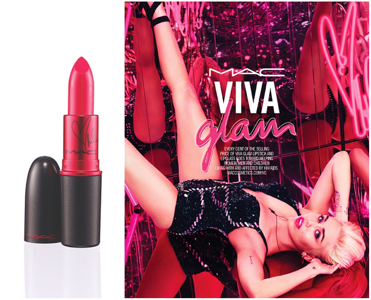 MAC Viva Glam Miley Cyrus Lipstick: Review and Swatches