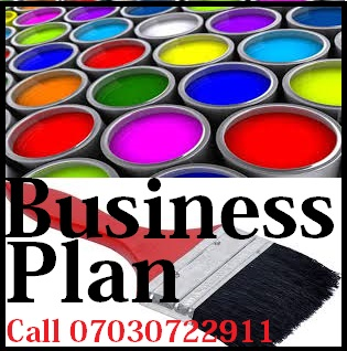 Paint Business Plan Sample for Loans