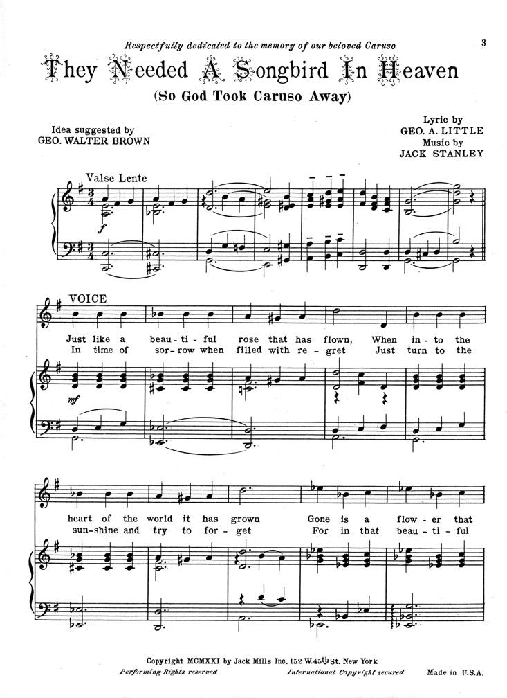 let me entertain you sheet music free