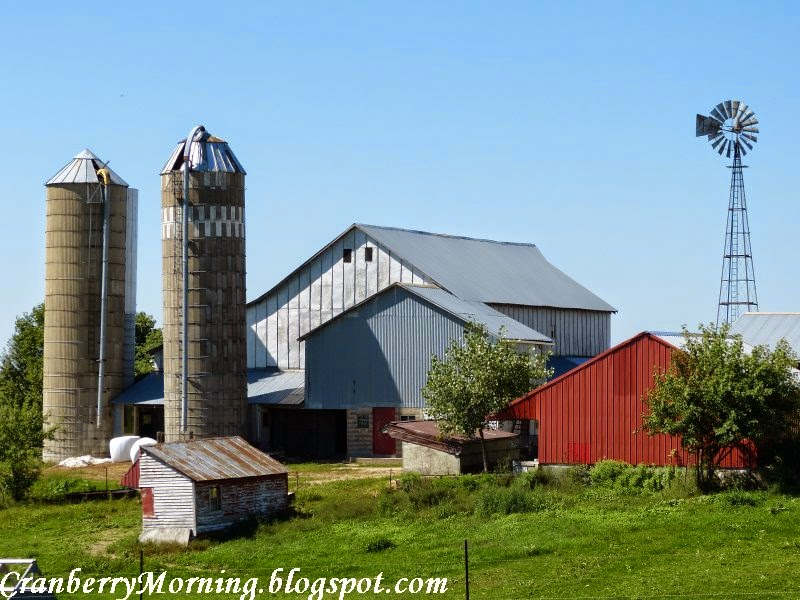 Amish Fence Posts : Cranberry morning good fences amish farms