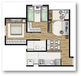 apto 2 e 3 dormitorios home club carrao