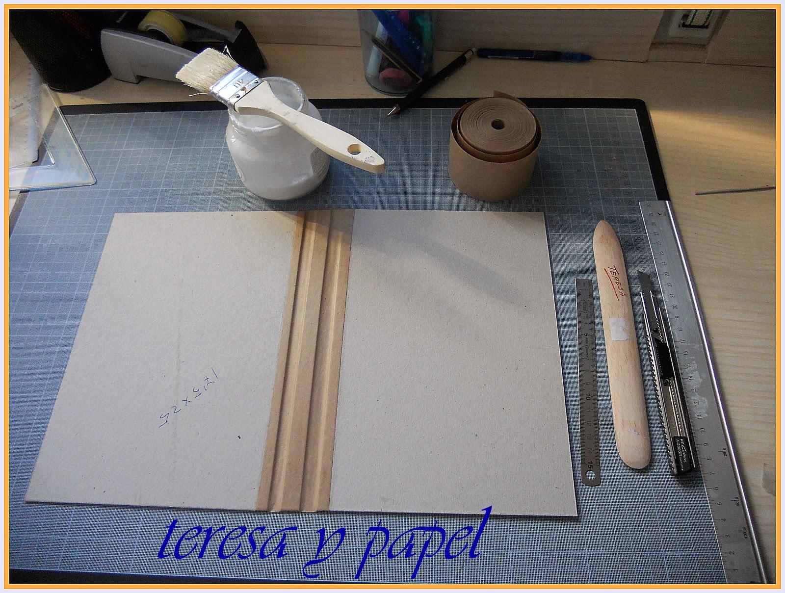 Teresa y papel libro de cocina encuadernaci n for Libro procesos de cocina