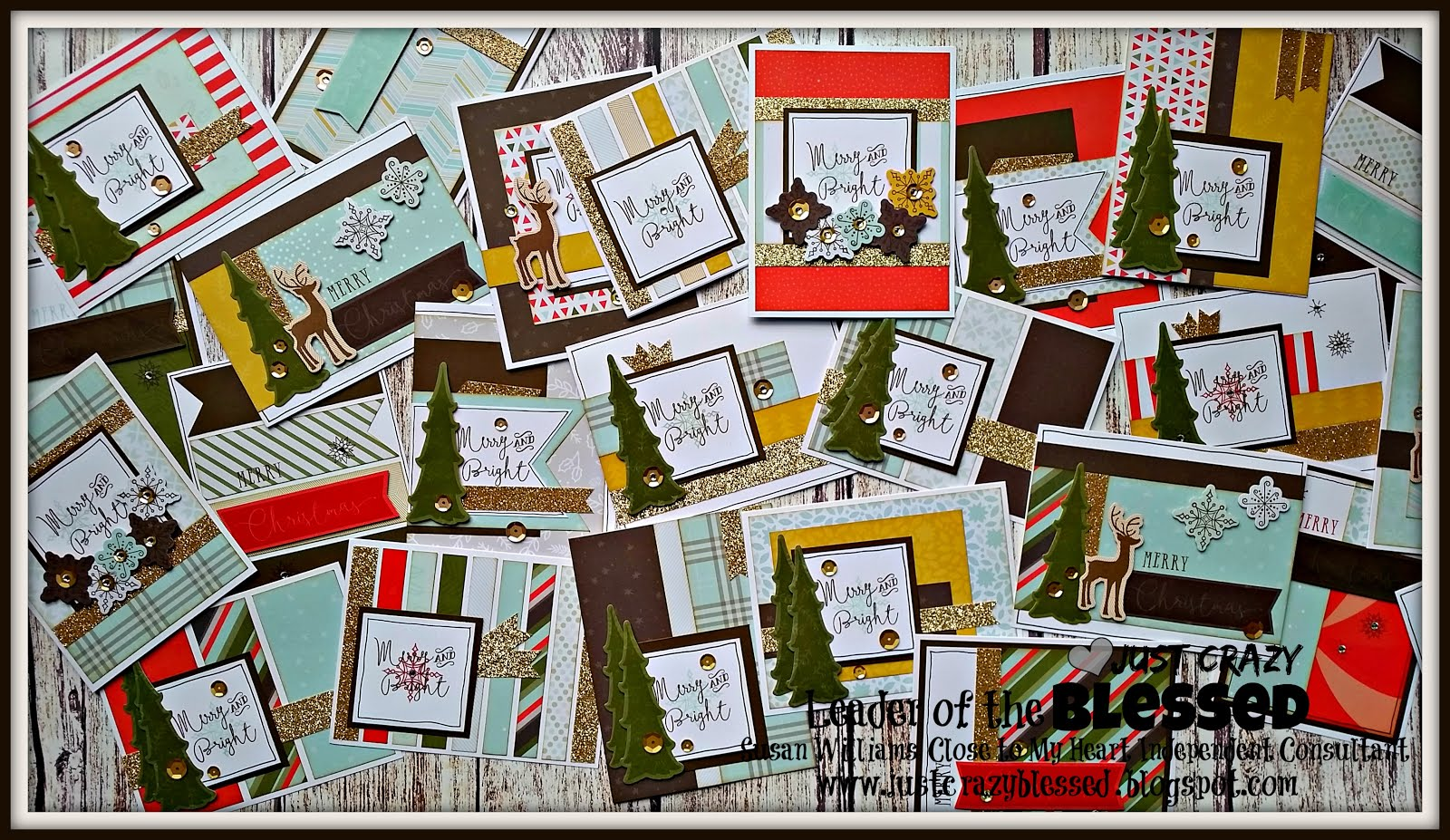'Merry and  Bright' (50) Card Workshop!