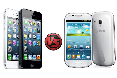 iPhone 5 vs. Samsung Galaxy S3 Mini
