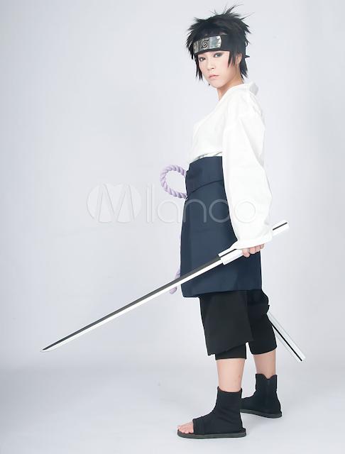 China Wholesale Cosplay Costume - Handsome Naruto Uchiha Sasuke Cosplay Costume