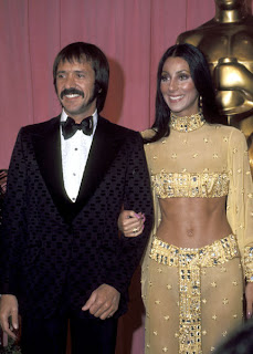Sonny and Cher at the 1973 Academy Awards