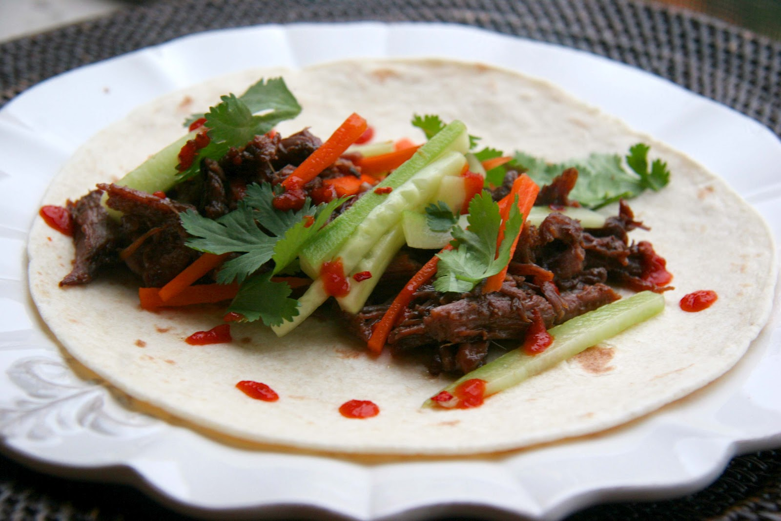 Look Who's Cookin' Now: Crockpot Korean Short Rib Tacos