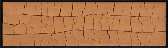 tableaux en terre et fissures